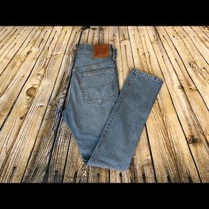 Levi's 501's high rise